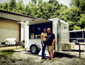Congrats to the Childers Family on their NEW Ultimate Tailgate Trailer!