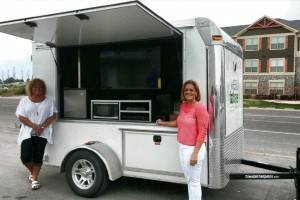 The West Texas Food Bank partnered with Towable Tailgates™