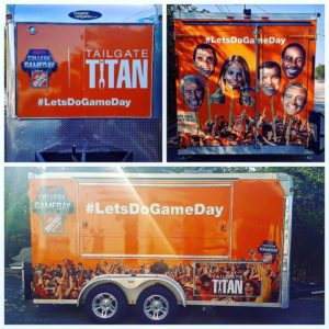 College GameDay Tailgate Titan